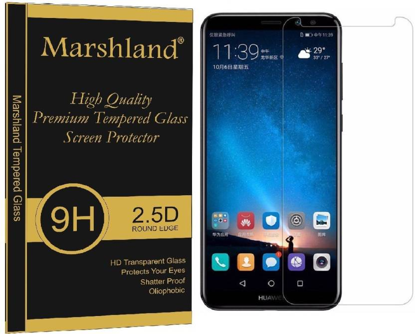 Marshland Tempered Glass Guard for Huawei mate 10 lite