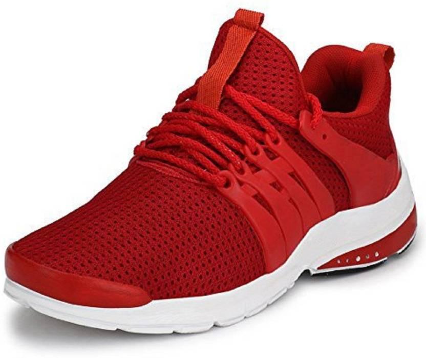fcfb439c85b Foot Locker Men s Nitro Series Mesh Running Shoe Walking Shoes For Men (Red)