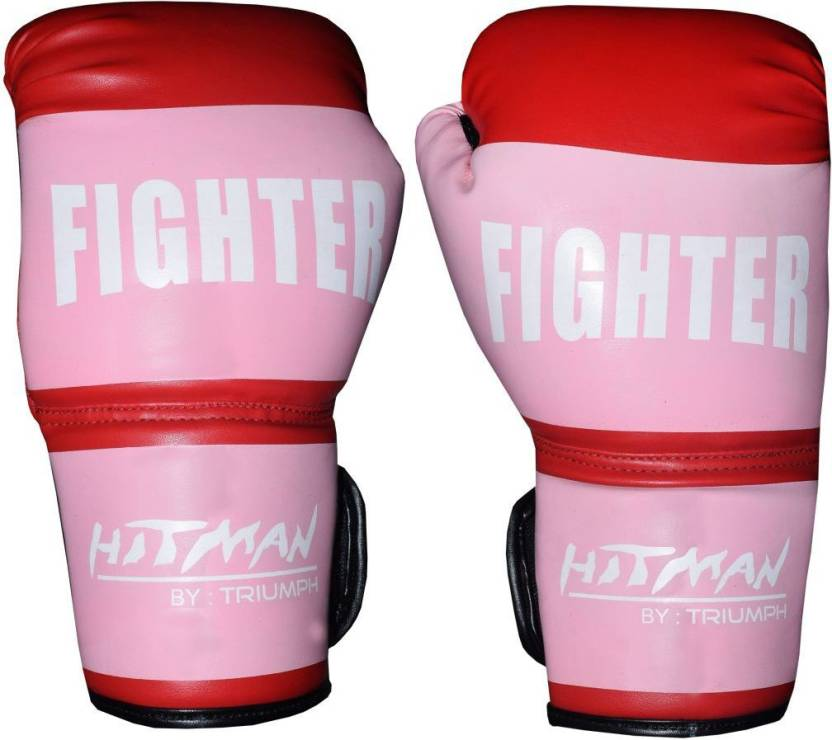 Hitman Fighter Pvc Boxing Gloves M Red Buy Hitman Fighter Pvc Boxing Gloves M Red Online At Best Prices In India Boxing Flipkart Com