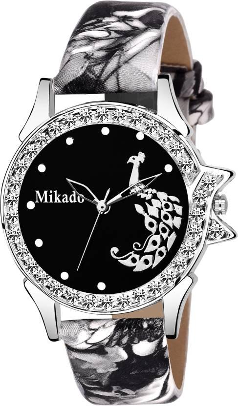 bdfe8c19f Mikado Stylish Sophia Black Analog watch for Girls And Women Watch - For  Girls - Buy Mikado Stylish Sophia Black Analog watch for Girls And Women  Watch ...