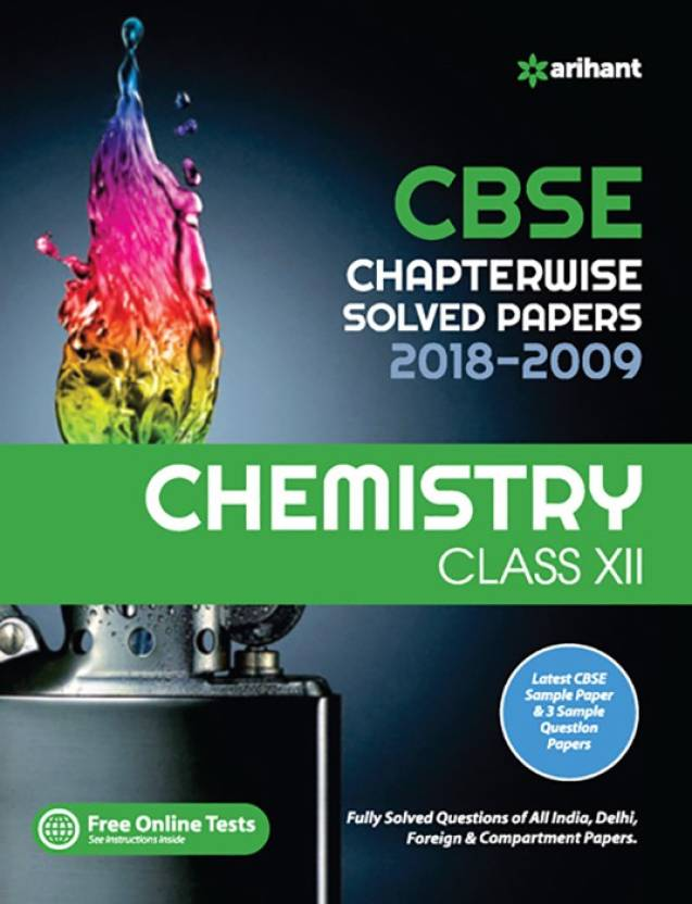 Cbse Chemistry Chapterwise Solved Papers Class12th  (English, Paperback, unknown)
