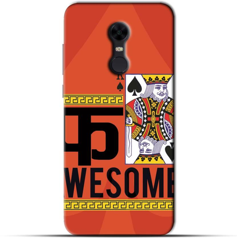the best attitude e4aaf d0c14 Saavre Back Cover for Fuck Awesome for REDMI NOTE 5 - Saavre ...