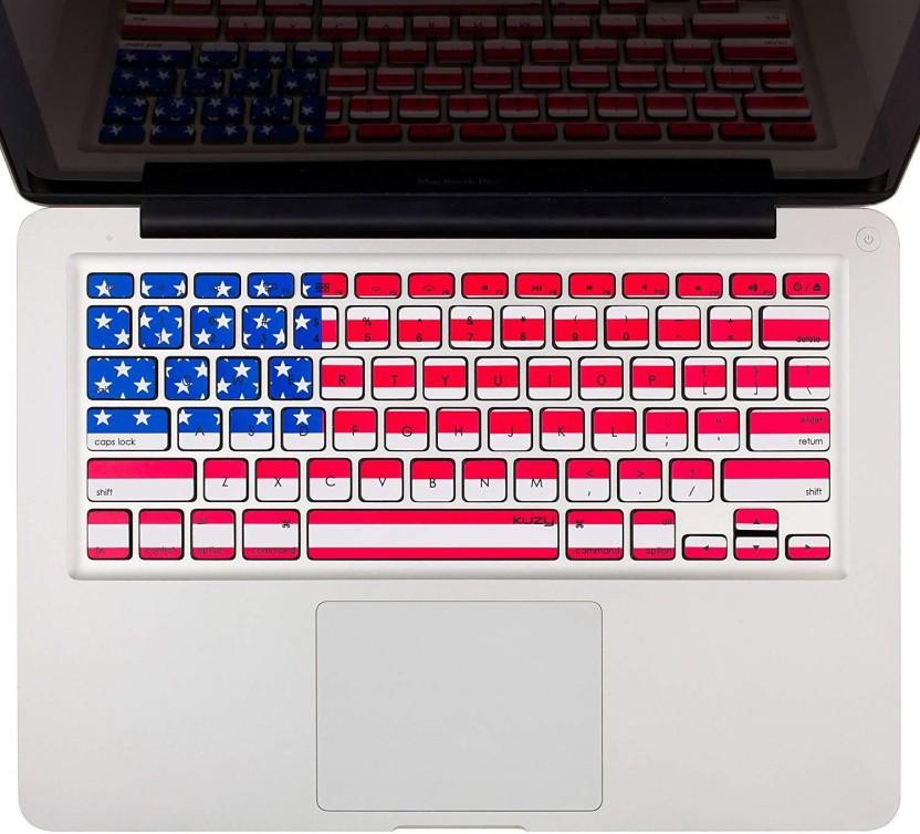 2 PCS Silicone Keyboard Cover Skin for Apple Macbook Air Pro Retina MAC 13 15 17
