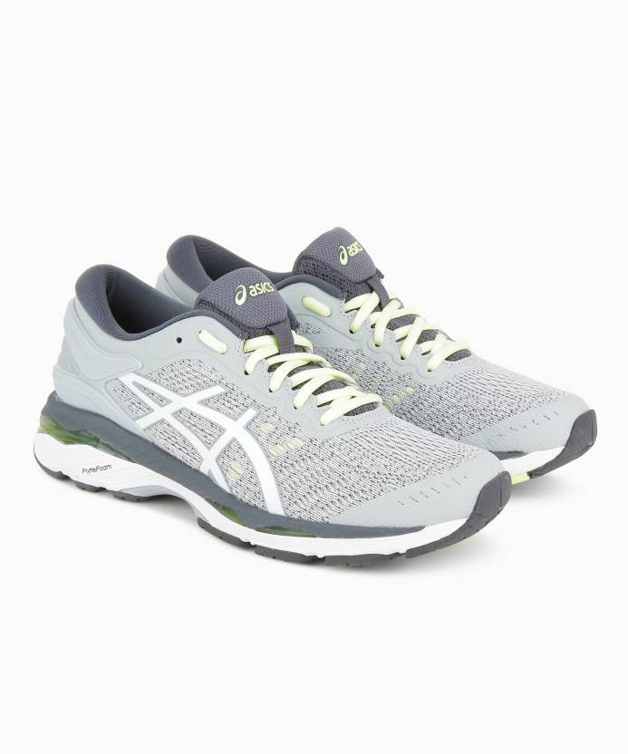 16aafdc0e3 Asics GEL-KAYANO 24 Running Shoes For Women - Buy GLACIER GREY/WHITE ...