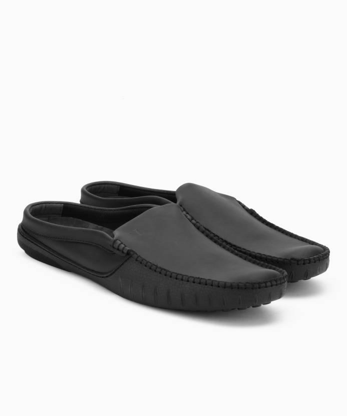 195a40efa2f729 V Dot by Van Heusen Driving Shoes For Men - Buy BLACK Color V Dot by ...
