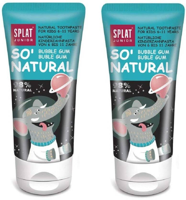 SPLAT Junior Toothpaste (6-11 Years) 98% Natural Free from SLS/SLES
