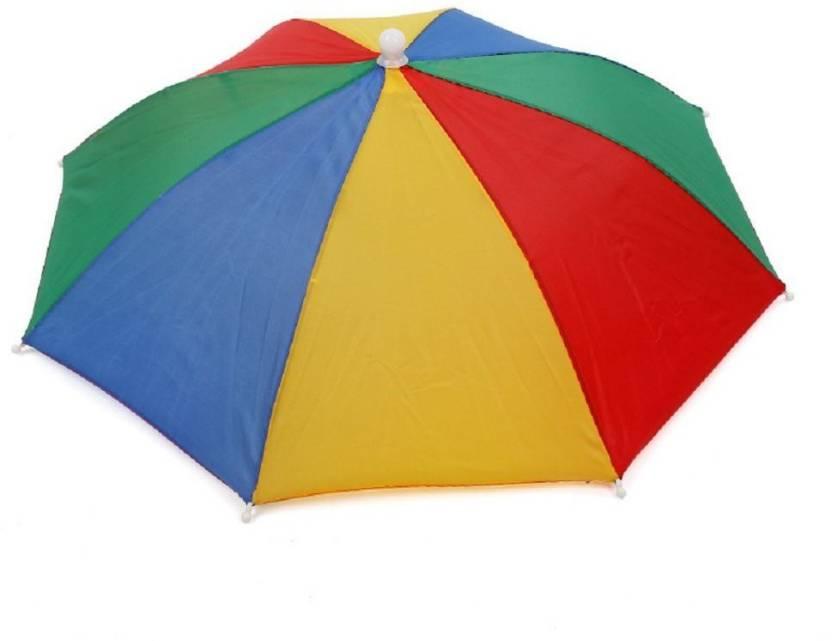 69e63451df6b9 Vagmi Multicolor Full hat umbrella Umbrella - Buy Vagmi Multicolor ...