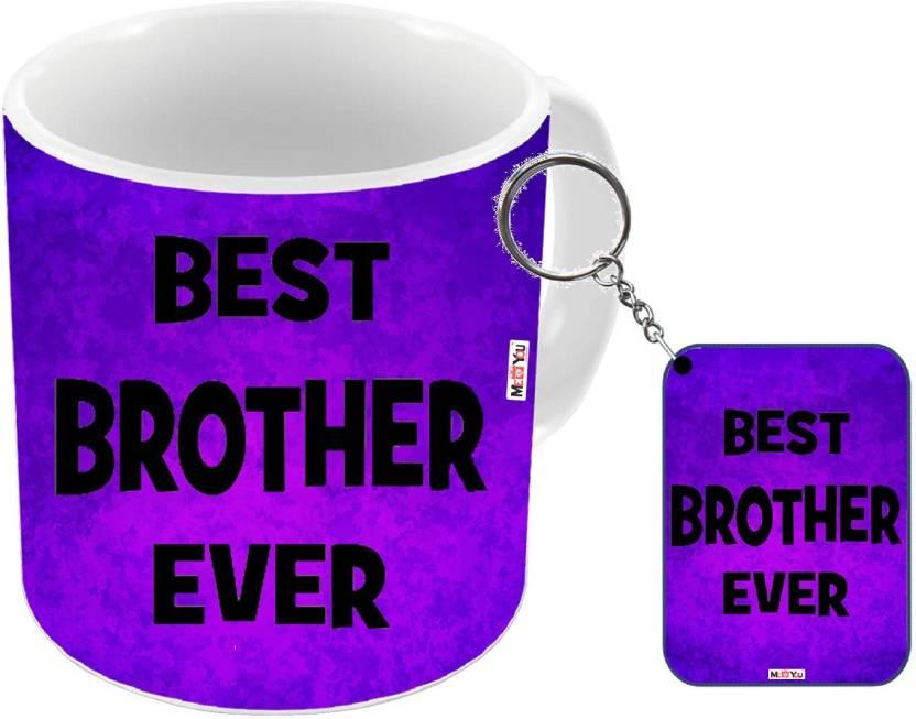 MEYOU Rakhi Gifts Gift For Brother Rakshabandhan Birthday Anniversary IZ18NJPMK 2755 Mug Keychain Set Price