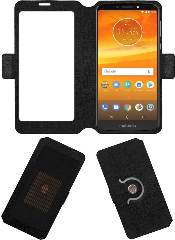 hot sale online 77cc3 90d18 ACM Flip Cover for Motorola Moto E5 Plus - ACM : Flipkart.com