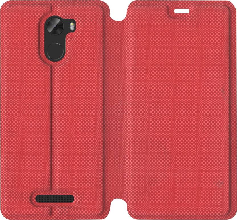 quality design c0c8b fef69 SBMS Flip Cover for Gionee A1 Lite