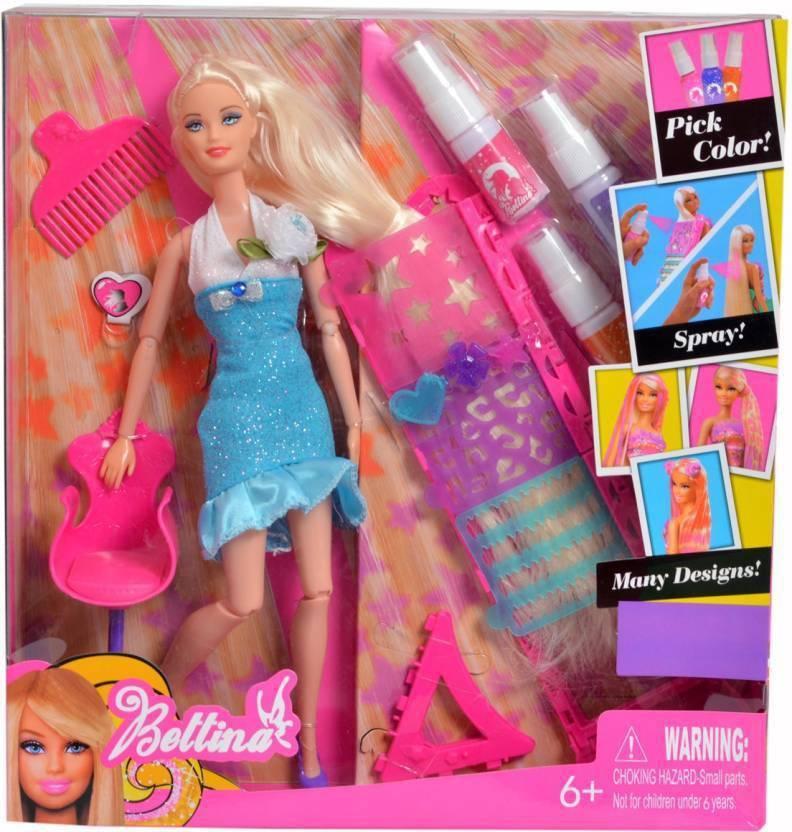 Color And Design Salon Barbie.Saisan Doll With Hair Color Design Salon Set With