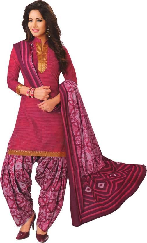 48bf71ac3d FabTag - Giftsnfriends Cotton Printed Salwar Suit Dupatta Material ...