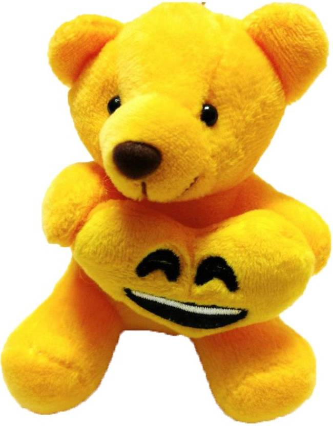 Generic Yellow Colour Teddy Bear with Smiley Heart Key Chain Price in India  - Buy Generic Yellow Colour Teddy Bear with Smiley Heart Key Chain online  at ... 4cb82828d9d