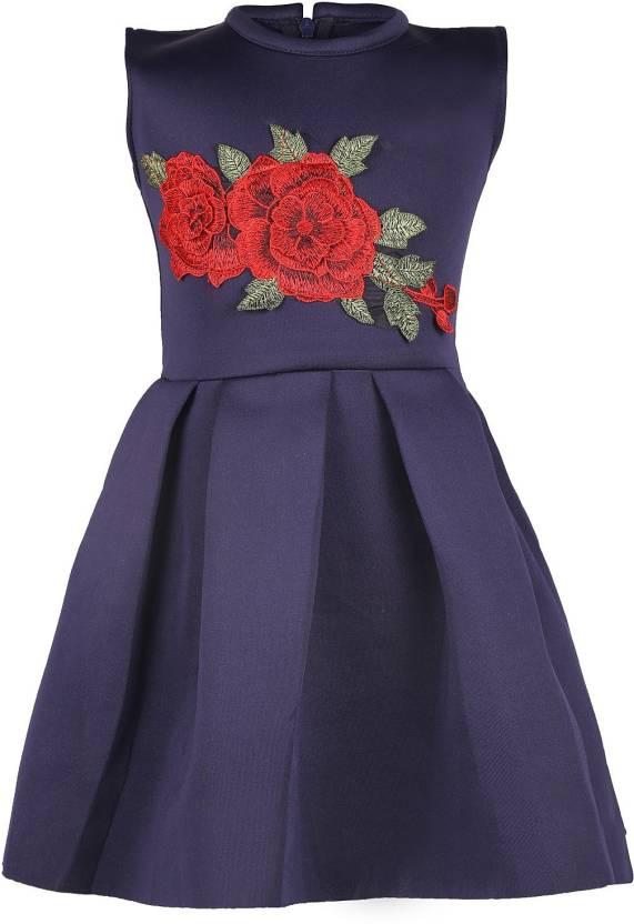 873e9da3ee12 FabTag - Tiny Toon Girls Mini Short Casual Dress Price in India ...