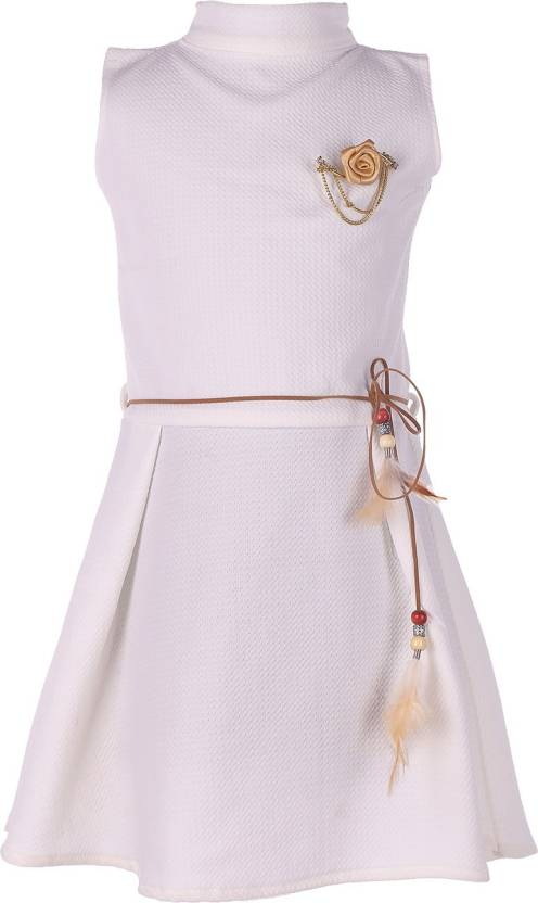 a44f5305d74c FabTag - Tiny Toon Girls Midi Knee Length Casual Dress Price in ...