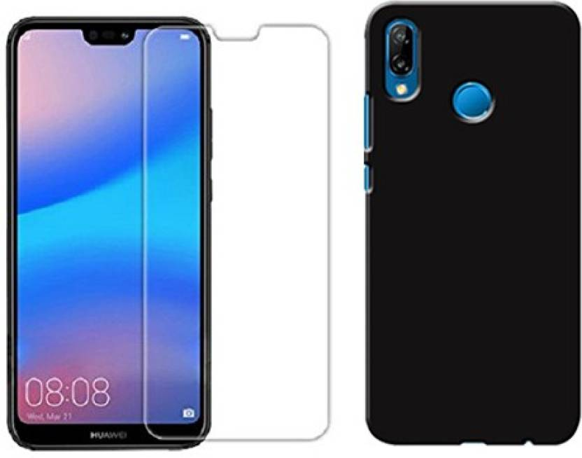DigiPrints Cover Accessory Combo for Huawei P20 lite Price