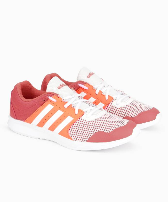 new style ffe56 db377 Adidas Core ESSENTIAL FUN II W Running Shoes For Women (Red)