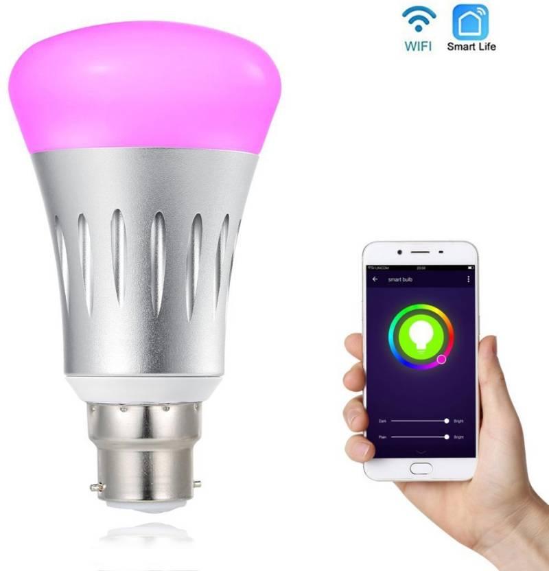 Wifi Light Bulb >> Trendingobjects 7w Smart Wifi Led Bulb Control By Smart Phone Google Home And Amazon Alexa Smart Bulb