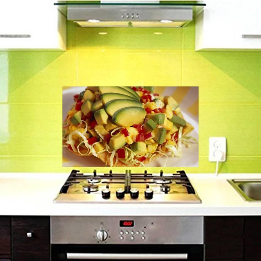 Total Home Medium Tasty Vegetables Salad Wallpaper Kitchen Wall