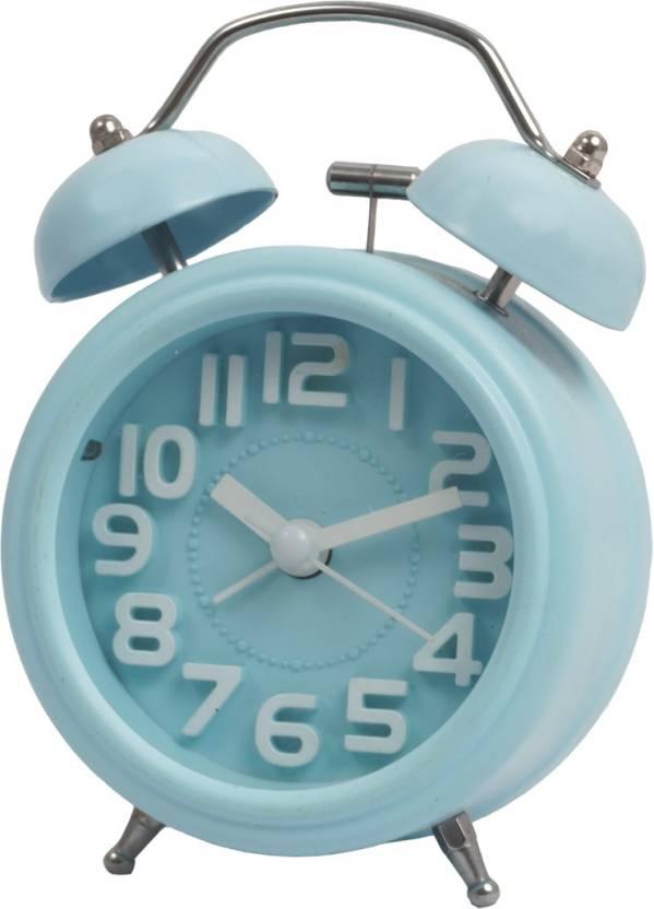 ROYALDEAL Analog alarm table clock loud sound Clock Price in