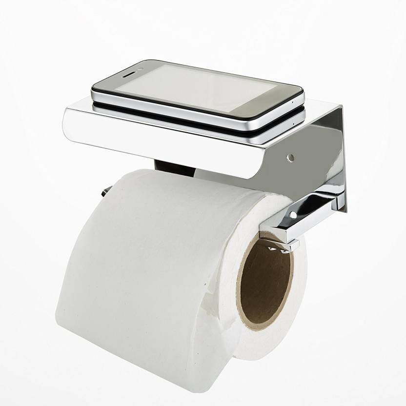 STEELERA HANDRAIL Toilet paper holder with stand Steel Toilet Paper ...