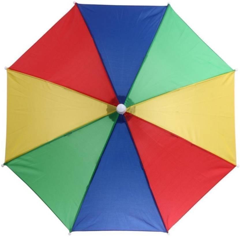3bfbd6a4eae64 Sayee Multicolor Full hat umbrella Umbrella Umbrella - Buy Sayee ...