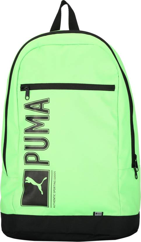 51ae4c27ddc22 Puma Pioneer I 25 L Laptop Backpack Green Gecko - Price in India ...
