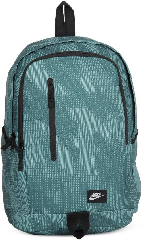 Nike NK ALL Access Soleday -D 15 L Backpack Noise Aqua, Black, White ... 5e3b3a502b