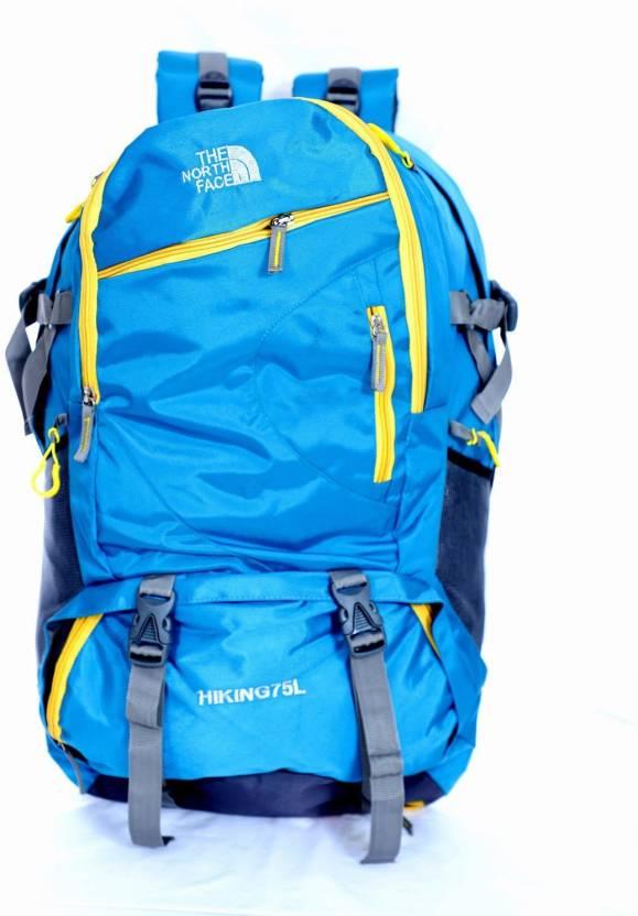 a25e66227b14 Agatti The North Face 75 L Backpack blue - Price in India