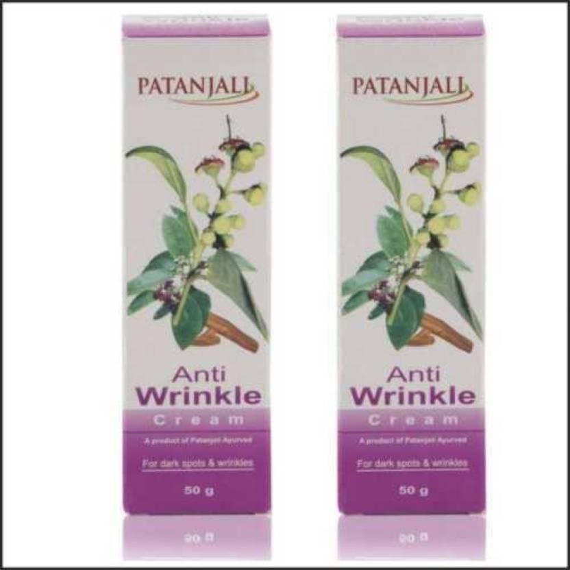 Patanjali Anti Wrinkle Cream 50GM - Price in India, Buy