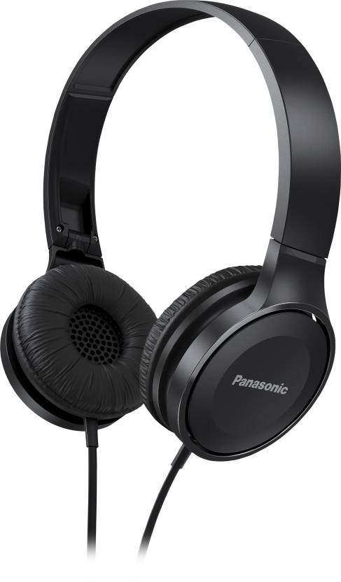 Panasonic Wired Headphone  (Black, On the Ear) @499 | Regular price on other websites 999