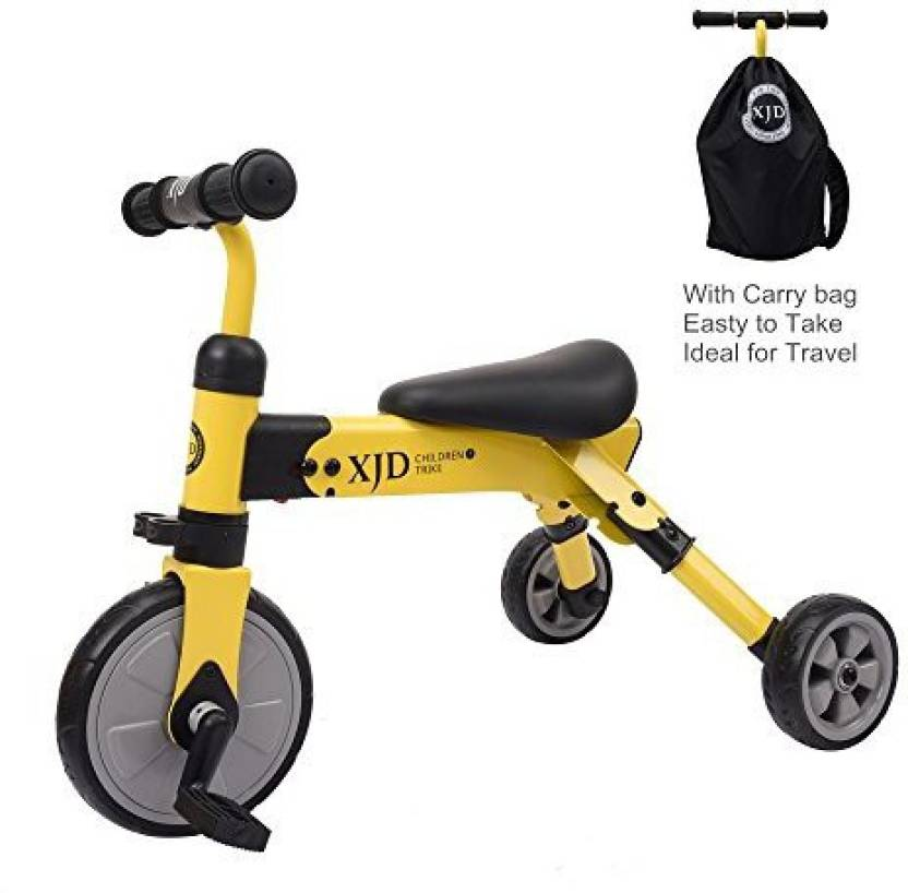 115cf2cd811 Generic XJD 2 in 1 Toddler Trike with Carry Bag, Baby Tricycle and Balance  Bike, Lightweight Folding Riding on Toys for Ages 18 Months+ Boys or Girls  ...