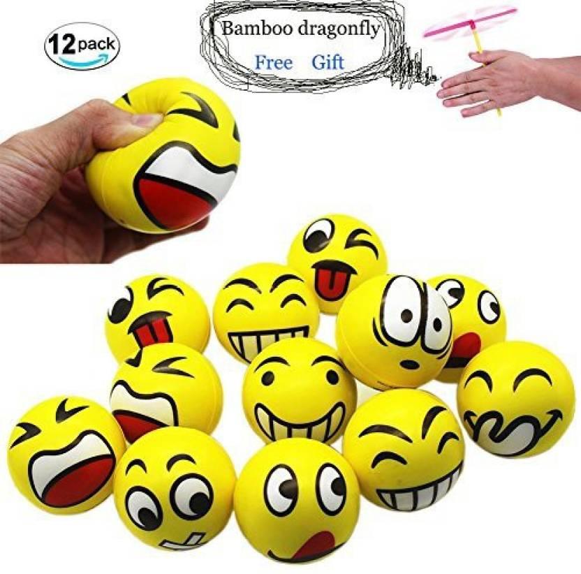 0d7d1110df40 Henbrandt Funny Face Squeeze Stress Balls