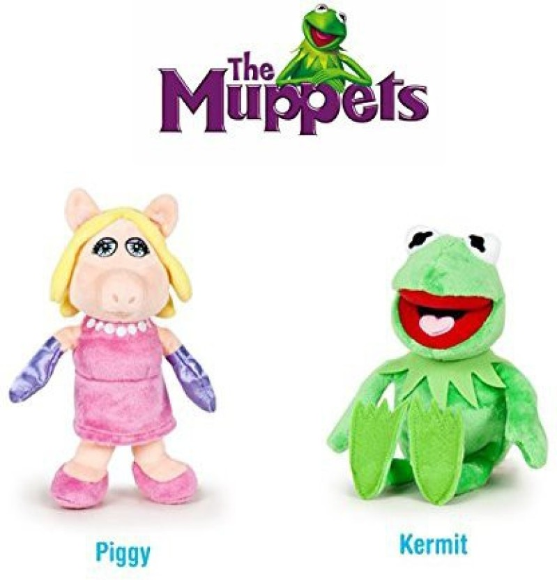 Animal The Muppets Miss Piggy Kermit  Keychains.