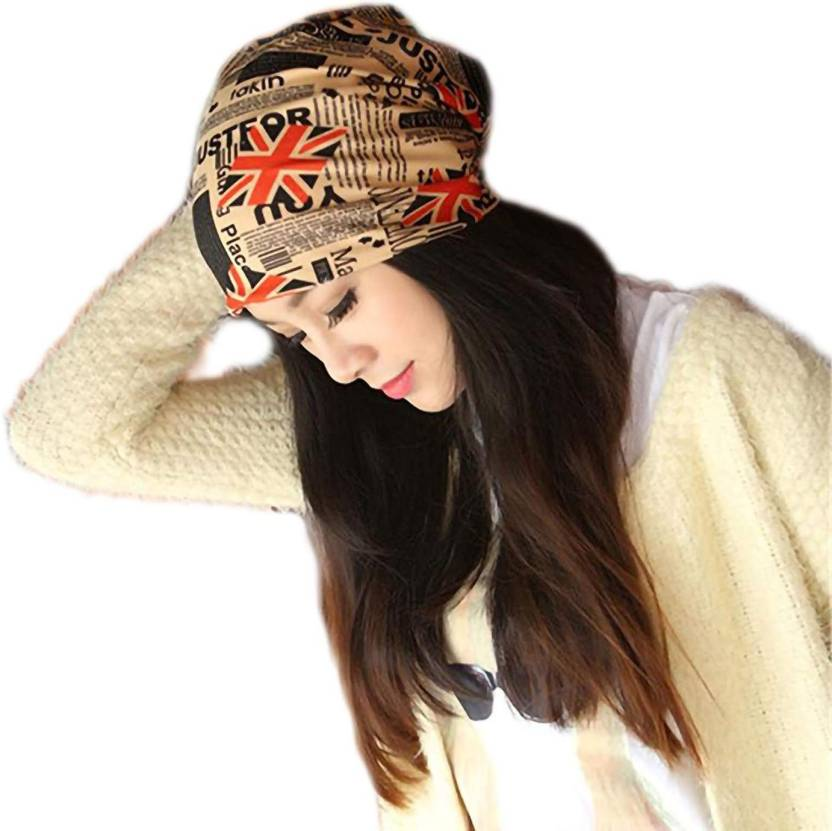 e22f037bba81b Elijahstore Solid Unisex stylish beanie cap skull hat free size Red and  Blue Flag Soft Printed