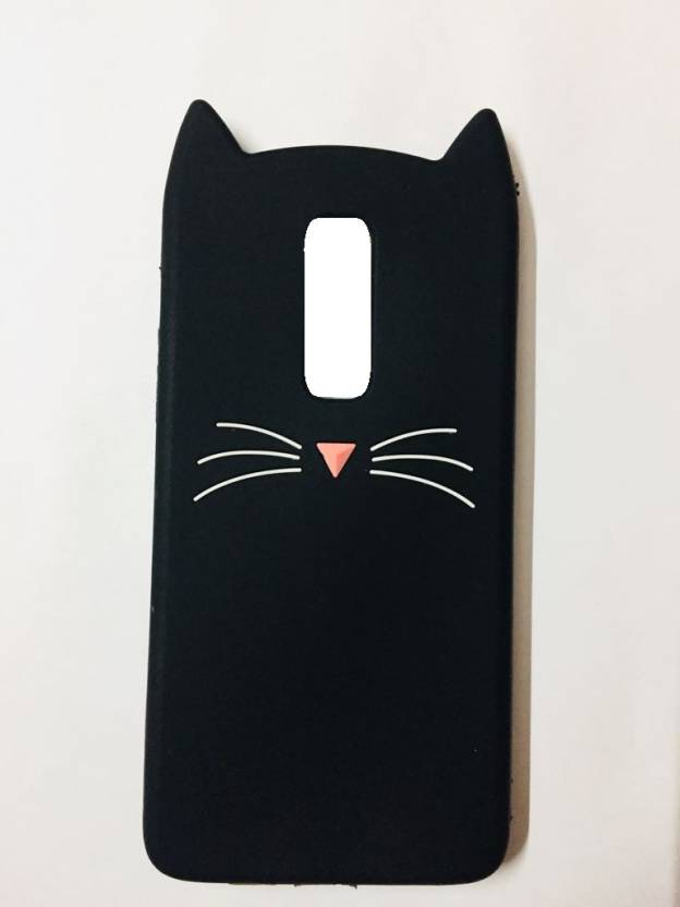 cheap for discount 99ca8 5bd14 Acesquare Back Cover for OnePlus 6 Cute Cartoon Beard Cat Ear Phone ...