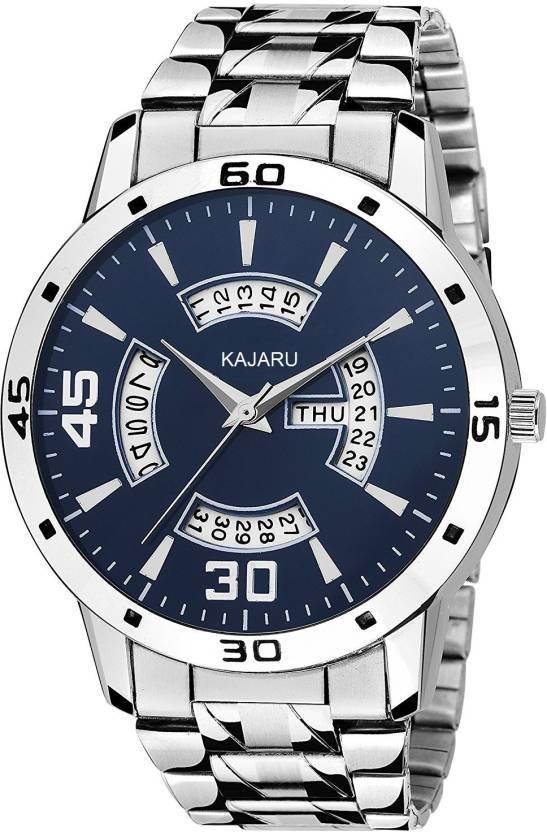 623195164 KAJARU D D -006 BLUE DIAL DAY   DATE FUNCTIONING Watch - For Men - Buy  KAJARU D D -006 BLUE DIAL DAY   DATE FUNCTIONING Watch - For Men D D Online  at Best ...