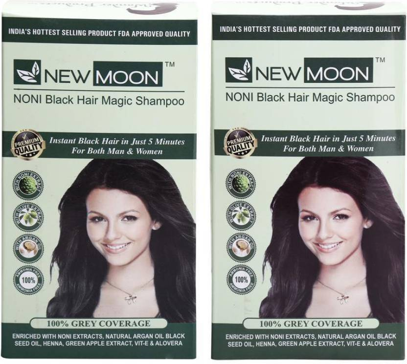 New Moon Pack Of 40 Pcs 15 Ml Noni Hair Color Without Ammonia Hair
