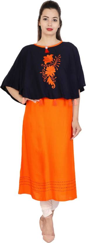 d75bb6c7aa96c You   Me Festive   Party Embroidered Women s Kurti - Buy You   Me ...