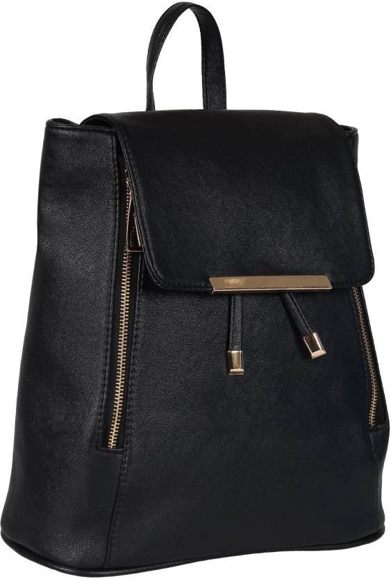 c87c6e606e Austin Klein Stylish Ladies Expandable Backpack Handbag 15 L Backpack  (Black)