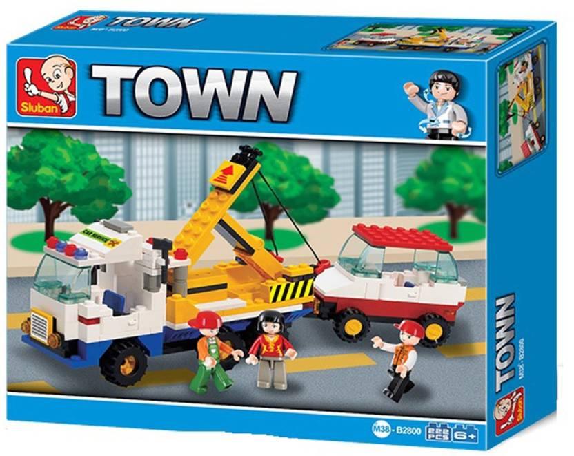 Sluban CITY SCENE Building Block Toys | 222 Pieces | LEGO Compatible