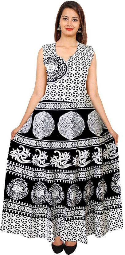 41fb4eb57eca4 Silver Organisation Women's High Low Black, White Dress - Buy Silver ...