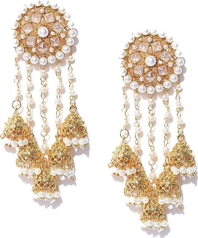 Zeneme Jewellery Traditional Earrings For Women