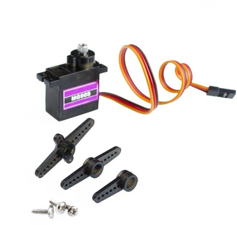 INVENTO MG90S Tower Pro Metal Geared Servo Motor for PLANE