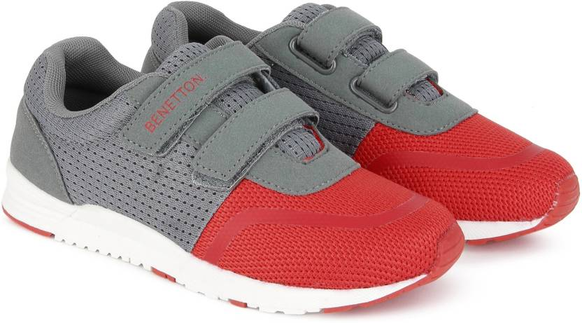 003e4800f540 United Colors of Benetton Boys   Girls Velcro Running Shoes Price in ...