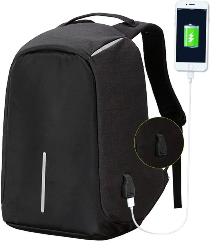 9db230e0ac Andride 15.6 inch Expandable Laptop Backpack Black - Price in India ...
