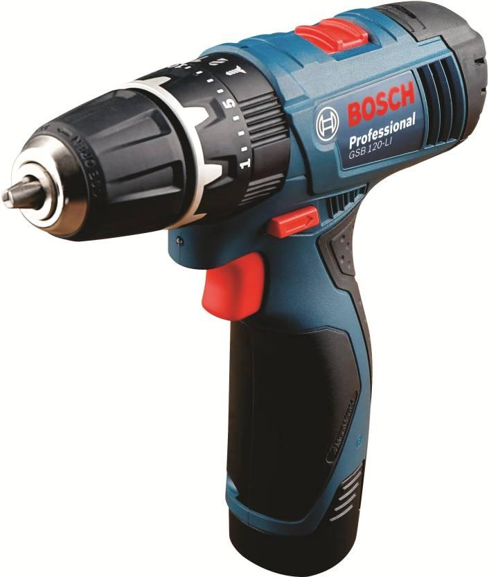 Bosch gsb120 kit Cordless Impact Drill GSB120 Pistol Grip Drill