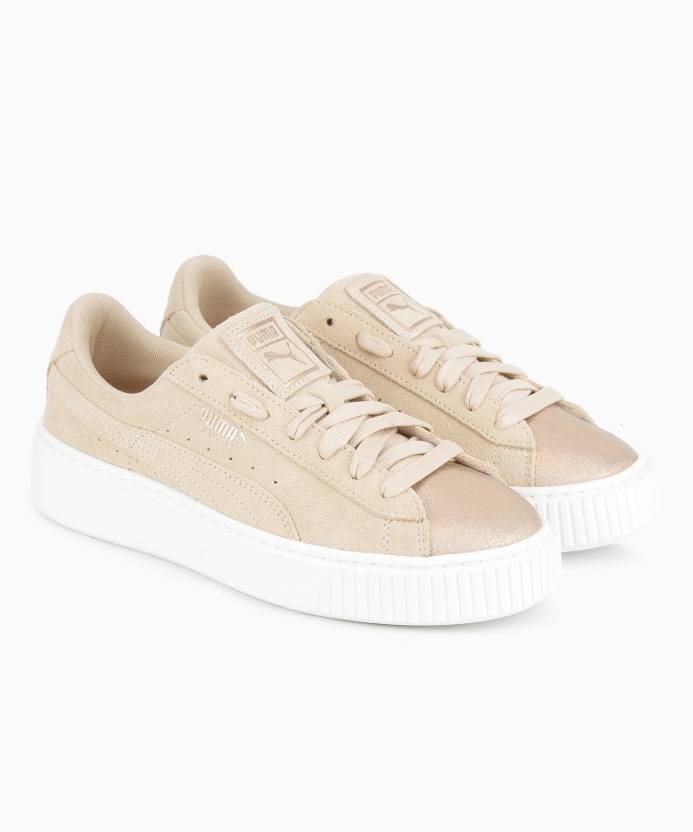 1040a050767d Puma Sneakers For Women - Buy Cream Tan Color Puma Sneakers For ...