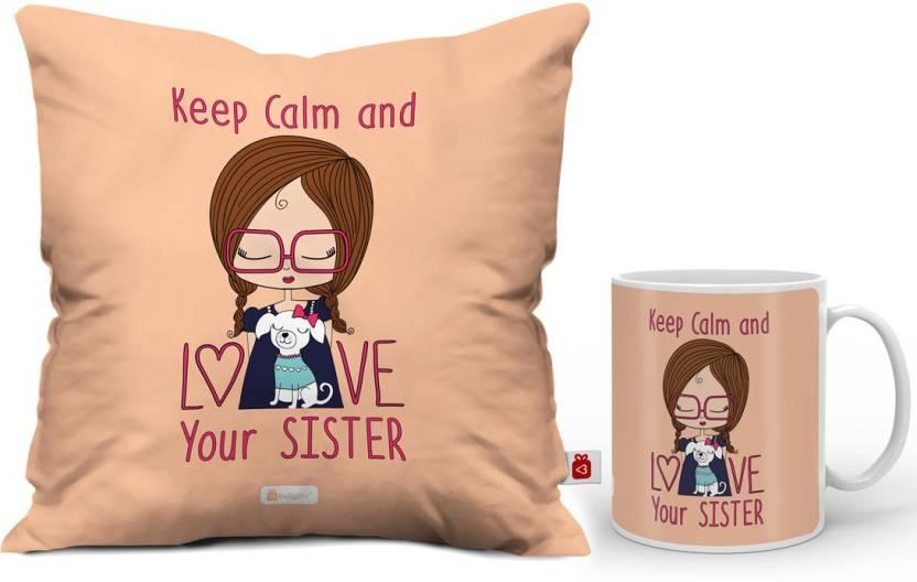 Indigifts Rakhi Gift Raksha Bandhan Happy Birthday For Sister Gifts