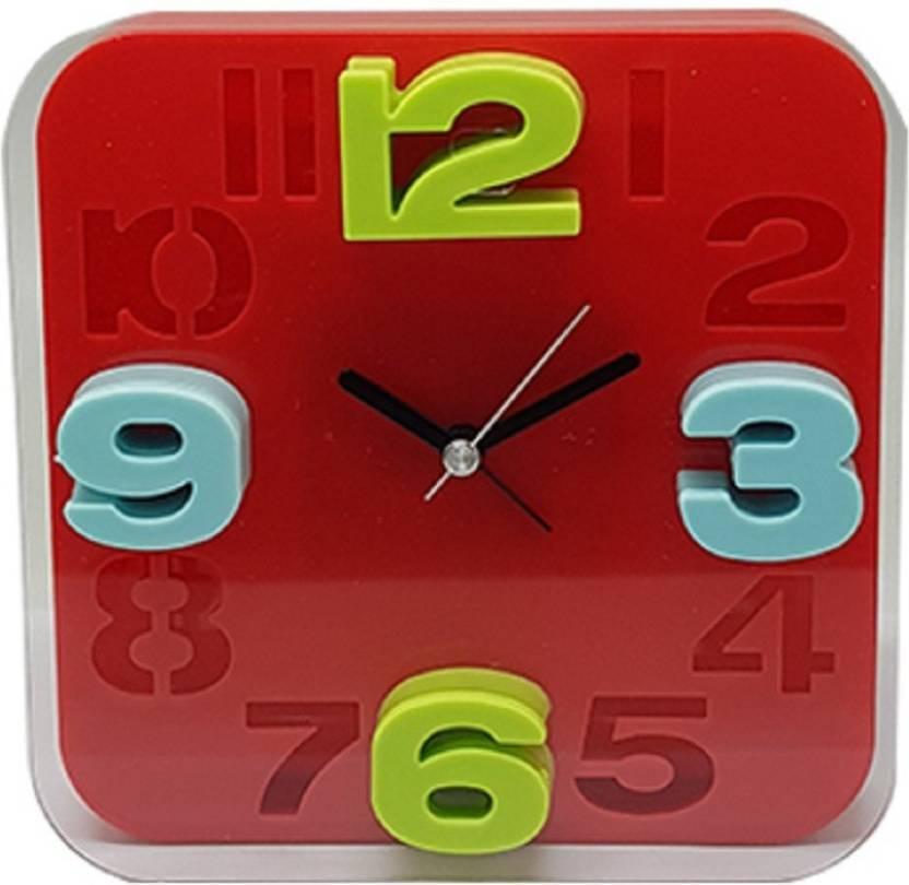 1b238f4c1 Tuelip Analog-Digital Wall Clock Price in India - Buy Tuelip Analog ...